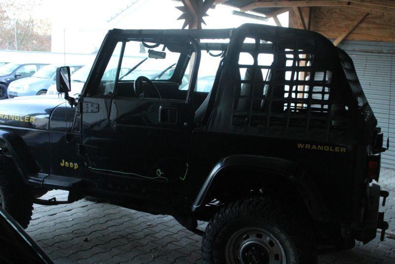 verkauft jeep wrangler 2 5 hardtop s gebraucht 1995 km in deggendorf. Black Bedroom Furniture Sets. Home Design Ideas