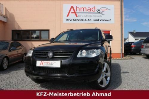 verkauft vw touareg v6 tdi top zustan gebraucht 2008 km in lampertheim. Black Bedroom Furniture Sets. Home Design Ideas