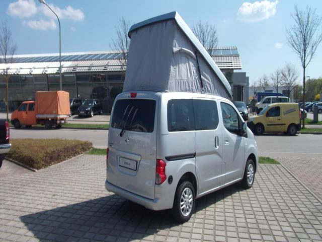 verkauft nissan nv200 camping stadtind., gebraucht 2013, 17.000 km