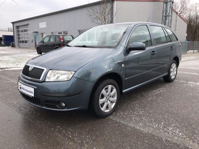 verkauft skoda fabia 1 9 tdi combi ext gebraucht 2005 km in eisenach. Black Bedroom Furniture Sets. Home Design Ideas