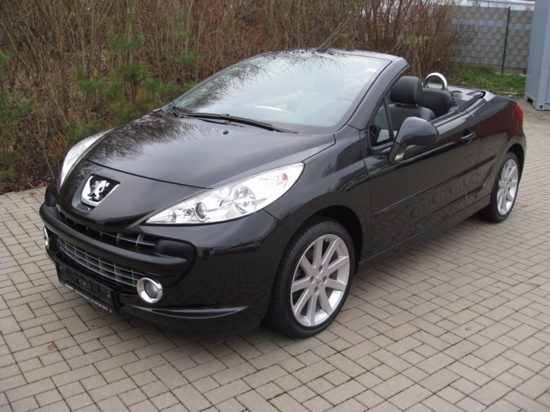 verkauft peugeot 207 cc 120 vti sport gebraucht 2008 km in schifferstadt. Black Bedroom Furniture Sets. Home Design Ideas
