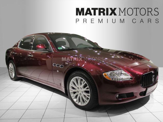 verkauft maserati quattroporte 4,2 aut., gebraucht 2010, 48.000 km