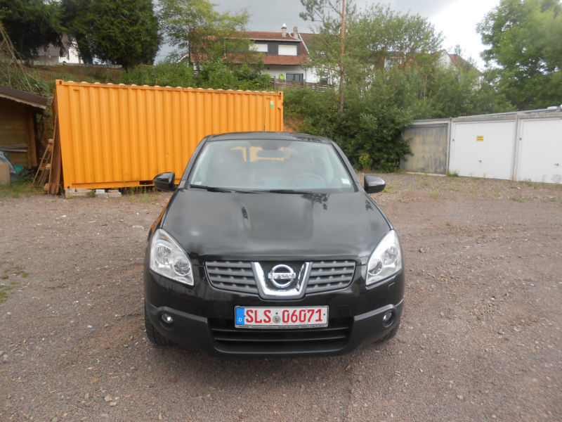 verkauft nissan qashqai tekna 4x4 gebraucht 2008 km in lebach. Black Bedroom Furniture Sets. Home Design Ideas