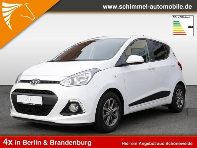 verkauft hyundai i10 1 0 passion gebraucht 2016 km. Black Bedroom Furniture Sets. Home Design Ideas