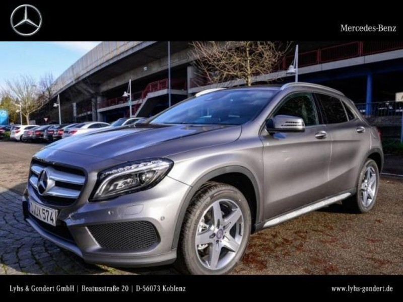 verkauft mercedes gla220 d 4matic spor gebraucht 2016 km in koblenz. Black Bedroom Furniture Sets. Home Design Ideas