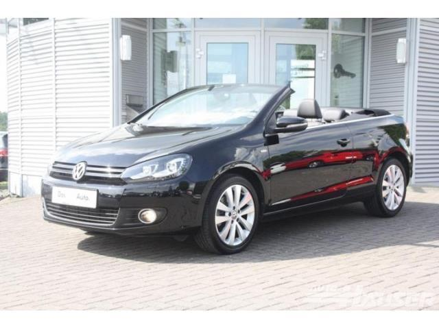 verkauft vw golf cabriolet golf cabrio gebraucht 2014 km in bochum. Black Bedroom Furniture Sets. Home Design Ideas
