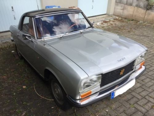 verkauft peugeot 304 s cabrio gebraucht 1973 km in dunningen. Black Bedroom Furniture Sets. Home Design Ideas