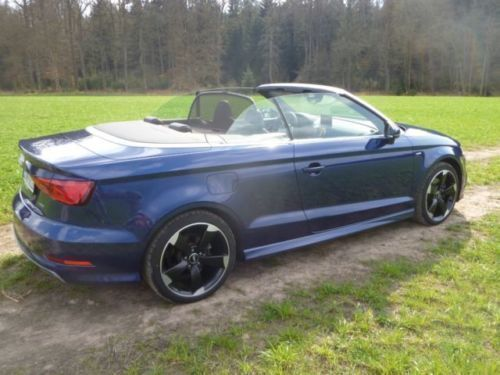 verkauft audi a3 cabriolet 1 8 tfsi s gebraucht 2015 km in hildesheim. Black Bedroom Furniture Sets. Home Design Ideas