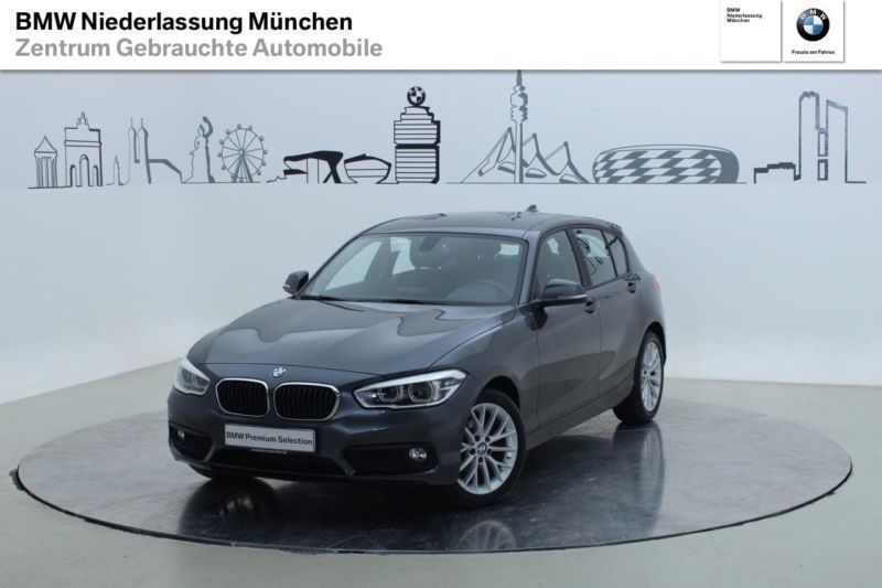 verkauft bmw 116 d 5 t rer advantage l gebraucht 2015 km in m nchen fr ttmaning. Black Bedroom Furniture Sets. Home Design Ideas