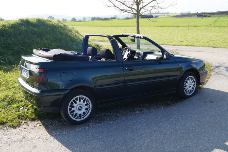 verkauft vw golf cabriolet 1 6 gebraucht 1997 km. Black Bedroom Furniture Sets. Home Design Ideas