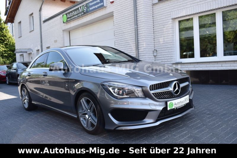 verkauft mercedes cla250 cla klasse le gebraucht 2014 km in kassel. Black Bedroom Furniture Sets. Home Design Ideas