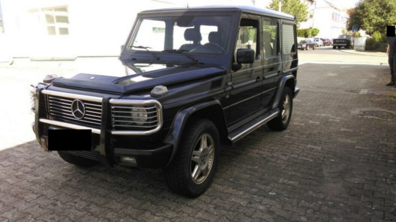 verkauft mercedes g400 g modell statio gebraucht 2001 km in gelnhausen. Black Bedroom Furniture Sets. Home Design Ideas
