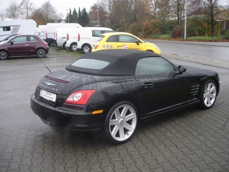 verkauft chrysler crossfire roadster b gebraucht 2005 km in leinfelden echterd. Black Bedroom Furniture Sets. Home Design Ideas