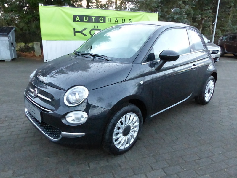 verkauft fiat 500c cabrio 1 2 8v loung gebraucht 2016 10 km in teltow. Black Bedroom Furniture Sets. Home Design Ideas