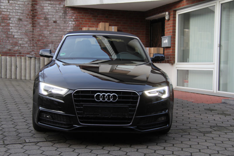 verkauft audi a5 cabriolet 2 0 tdi dpf gebraucht 2015 km in bochum. Black Bedroom Furniture Sets. Home Design Ideas