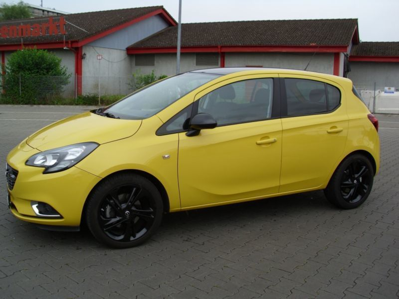 verkauft opel corsa 1 4 turbo color ed gebraucht 2015 km in kostheim. Black Bedroom Furniture Sets. Home Design Ideas