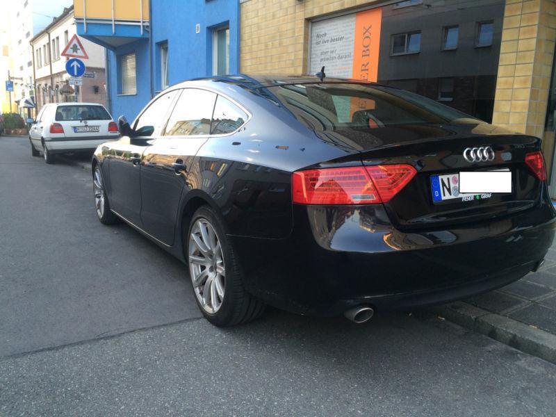 Audi a5 sportback s line 2012 gebraucht 3