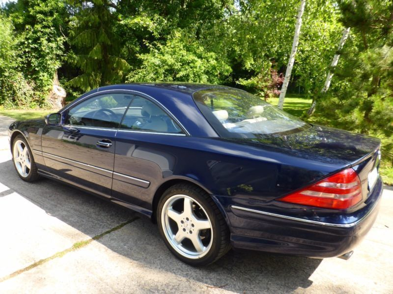 verkauft mercedes cl500 gebraucht 2001 km in kerpen. Black Bedroom Furniture Sets. Home Design Ideas