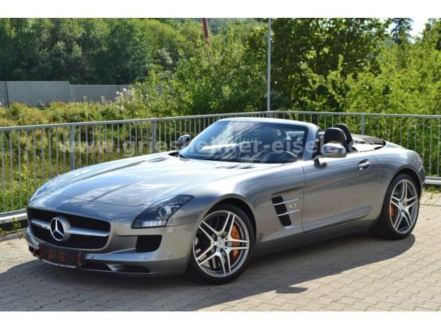 verkauft mercedes sls amg roadster sou gebraucht 2012 km in leonberg. Black Bedroom Furniture Sets. Home Design Ideas