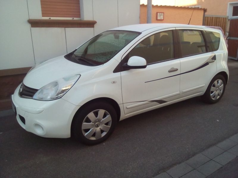 verkauft nissan note 1 4 i way gebraucht 2011 km. Black Bedroom Furniture Sets. Home Design Ideas