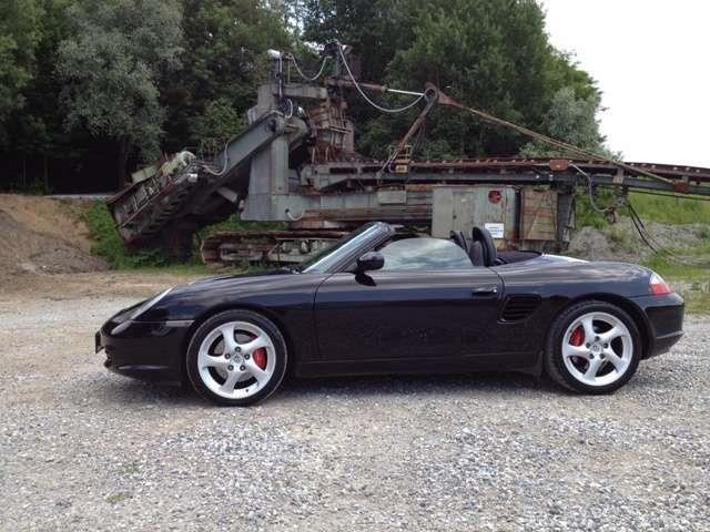 verkauft porsche boxster s gebraucht 2004 km in k nigsmoos. Black Bedroom Furniture Sets. Home Design Ideas