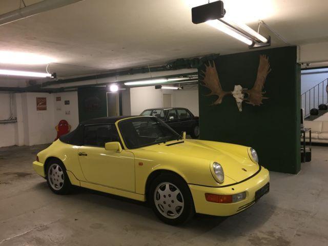 verkauft porsche 911 carrera cabriolet gebraucht 1991 km in berlin. Black Bedroom Furniture Sets. Home Design Ideas