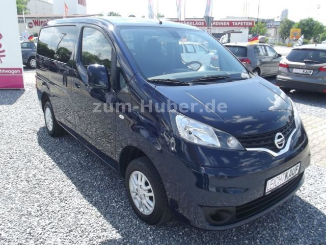 verkauft nissan nv200 evalia alu klima gebraucht 2012 km in wasserburg am inn. Black Bedroom Furniture Sets. Home Design Ideas