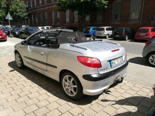 Gebraucht Peugeot 206 Cc 110 Platinum Guter Zustand Cabrio