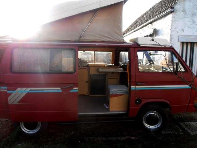 verkauft vw t3 reimo camper gebraucht 1981 km in. Black Bedroom Furniture Sets. Home Design Ideas