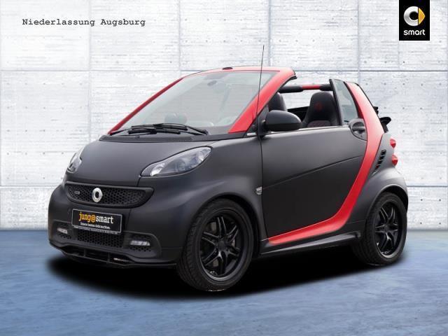 verkauft smart fortwo cabrio brabus xc gebraucht 2015 km in gersthofen augs. Black Bedroom Furniture Sets. Home Design Ideas