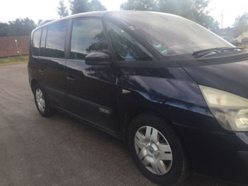 verkauft renault espace 2 0 gebraucht 2004 km in. Black Bedroom Furniture Sets. Home Design Ideas