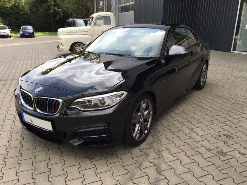 verkauft bmw m235 coupe gebraucht 2014 km in bremen. Black Bedroom Furniture Sets. Home Design Ideas