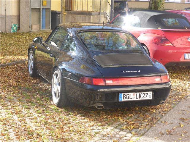verkauft porsche 911 carrera 4 993 gebraucht 1995 km in laufen. Black Bedroom Furniture Sets. Home Design Ideas