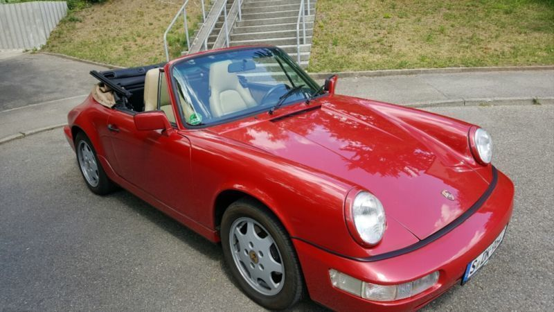 verkauft porsche 964 cabrio viele neut gebraucht 1991 km in stuttgart. Black Bedroom Furniture Sets. Home Design Ideas