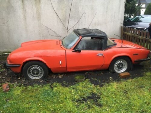 gebraucht triumph spitfire 1972 km 0 in bendorf autouncle. Black Bedroom Furniture Sets. Home Design Ideas