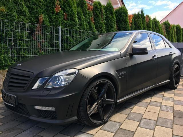 verkauft mercedes e63 amg e klasse lim gebraucht 2009 km in germersheim. Black Bedroom Furniture Sets. Home Design Ideas