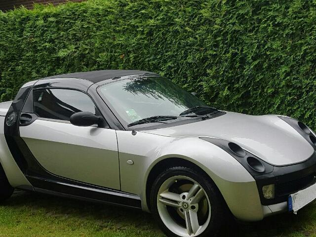 verkauft smart roadster coupe softtou gebraucht 2004. Black Bedroom Furniture Sets. Home Design Ideas
