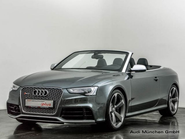 verkauft audi rs5 cabriolet 4 2 fsi rs gebraucht 2015 km in eching. Black Bedroom Furniture Sets. Home Design Ideas