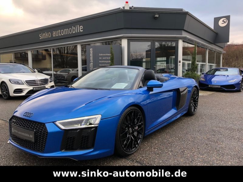 verkauft audi r8 spyder r8 5 2 fsi ker gebraucht 2017 9. Black Bedroom Furniture Sets. Home Design Ideas