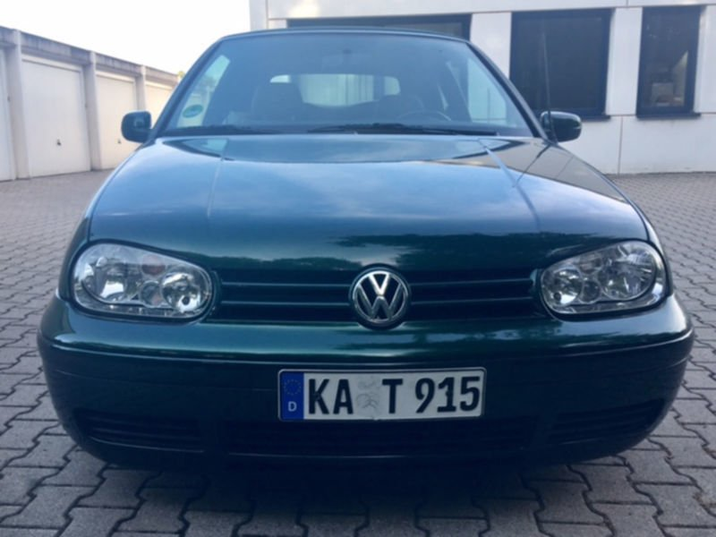verkauft vw golf cabriolet cabrio 1 6 gebraucht 1999 km in demerath. Black Bedroom Furniture Sets. Home Design Ideas
