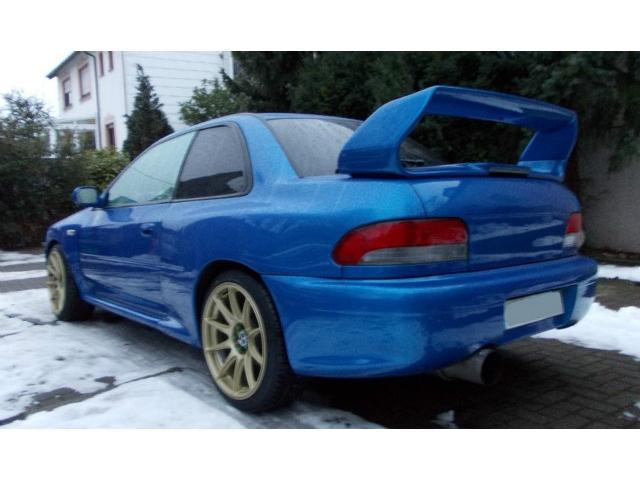 verkauft subaru impreza wrx sti type r gebraucht 1999 km in landstuhl. Black Bedroom Furniture Sets. Home Design Ideas
