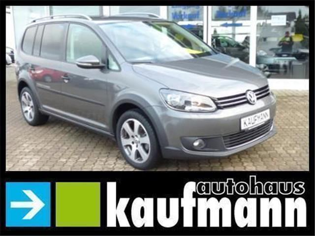 gebraucht 1 6 tdi 7 sitzer climatronic pdc vw touran cross 2012 km in aalen. Black Bedroom Furniture Sets. Home Design Ideas