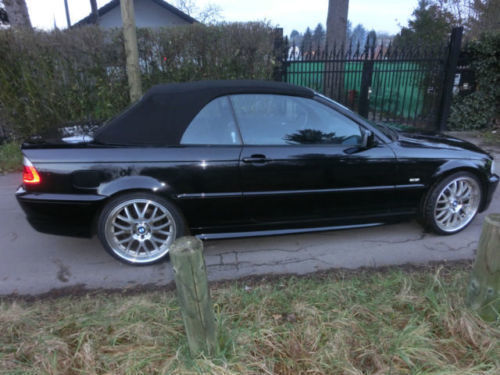 verkauft bmw 325 cabriolet gebraucht 2001 km in mainz kostheim. Black Bedroom Furniture Sets. Home Design Ideas