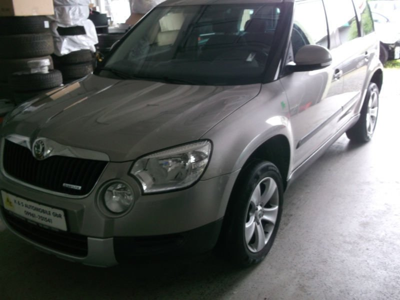 verkauft skoda yeti greenline gebraucht 2012 km in mitterfels. Black Bedroom Furniture Sets. Home Design Ideas