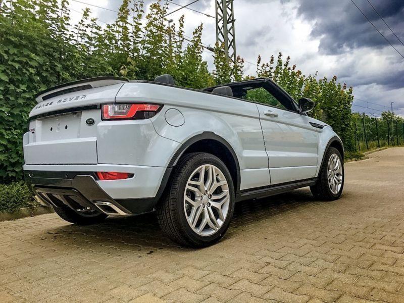 gebraucht cabriolet td4 hse dynamic land rover range rover evoque 2016 km in bayern. Black Bedroom Furniture Sets. Home Design Ideas