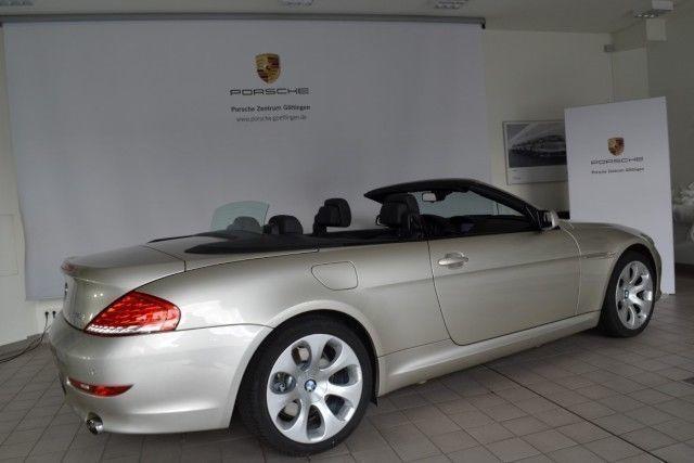 verkauft bmw 650 cabriolet gebraucht 2008 km in g ttingen. Black Bedroom Furniture Sets. Home Design Ideas