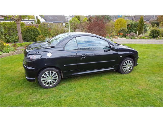 verkauft peugeot 206 cc gebraucht 2003 km in sundern sauerland. Black Bedroom Furniture Sets. Home Design Ideas