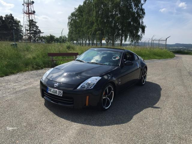 gebraucht usa reimport nissan 350z 2008 km in jettingen. Black Bedroom Furniture Sets. Home Design Ideas