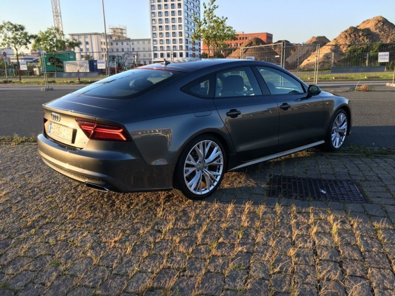 verkauft audi a7 3 0 tdi quattro s lin gebraucht 2015 km in bremen. Black Bedroom Furniture Sets. Home Design Ideas