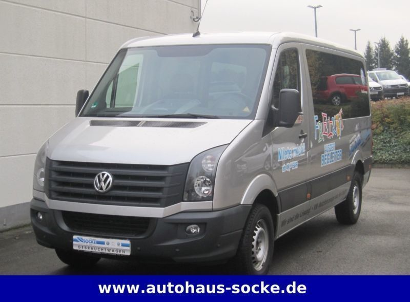 verkauft vw crafter 35 tdi kombi 9 si gebraucht 2013. Black Bedroom Furniture Sets. Home Design Ideas